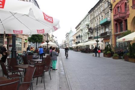 Петрковска улица в Лодзи