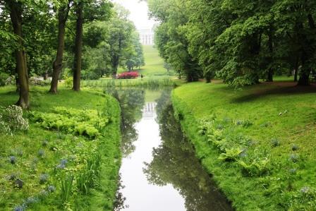 Лазенский парк в Варшаве