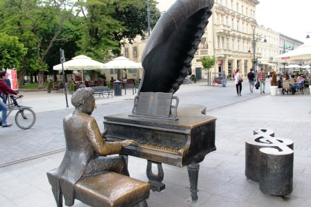 памятник Артуру Рубинштейну