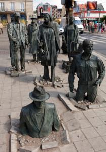 "памятник ""Переход"" во Вроцлаве"