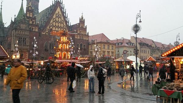 Рождественский Базар во Вроцлаве