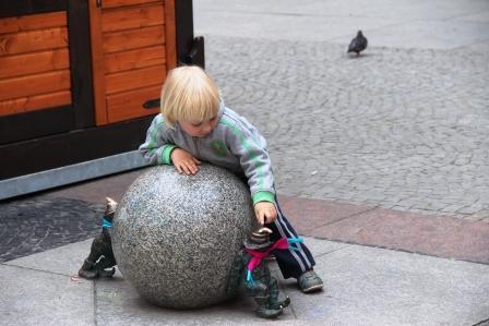 гномы Вроцлава- атракция для детей