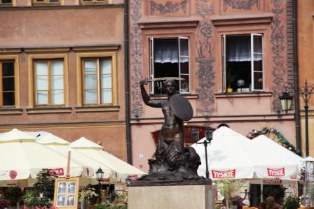 памятник Варшавской Русалки