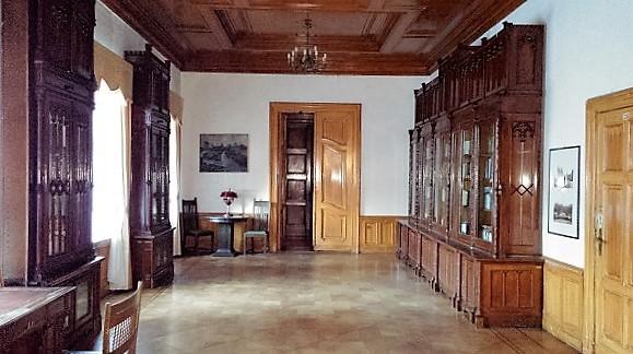 замковая библиотека